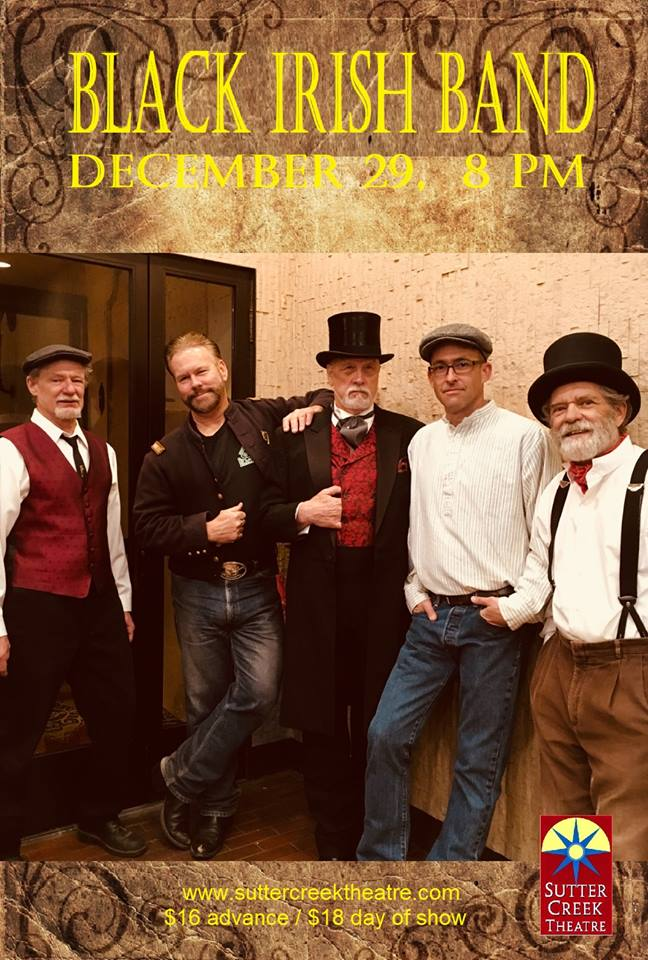 The Black Irish Band - Sat Dec 29