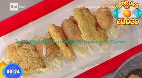 Fritto di emmenthal e persico con cavolo cappuccio ricetta Bertol da Prova del Cuoco