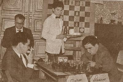 Partida Francino-Durão, Match Internacional de Ajedrez España-Lisboa - Madrid 1962