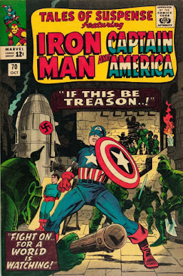 Tales of Suspense #70, Captain America