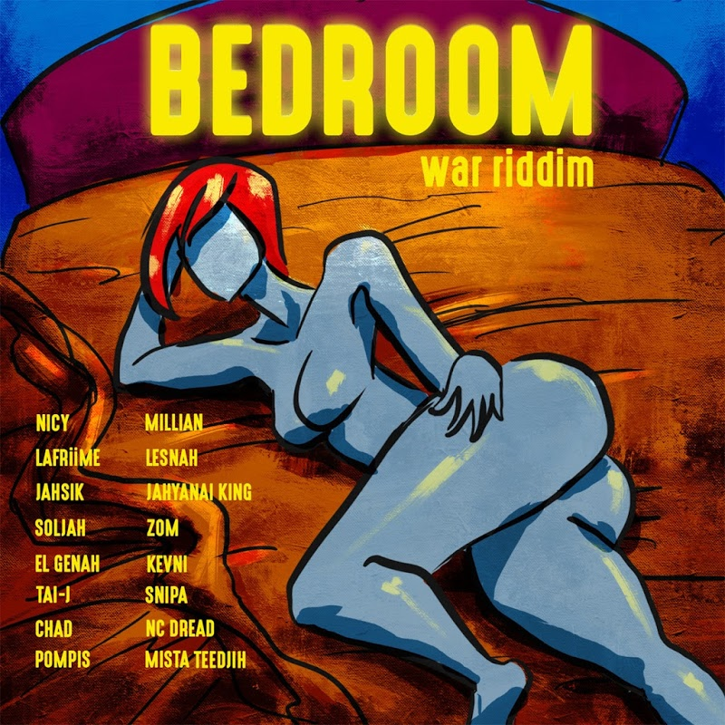 BEDROOM WAR RIDDIM - WALLASSINTSRUMENTALS [2018] | Reggae Fresh