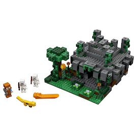 Minecraft The Jungle Temple Lego Set