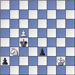 Estudio de Francesc Vivas Font, Fritz JT 1982, posición después de 6…Rc4