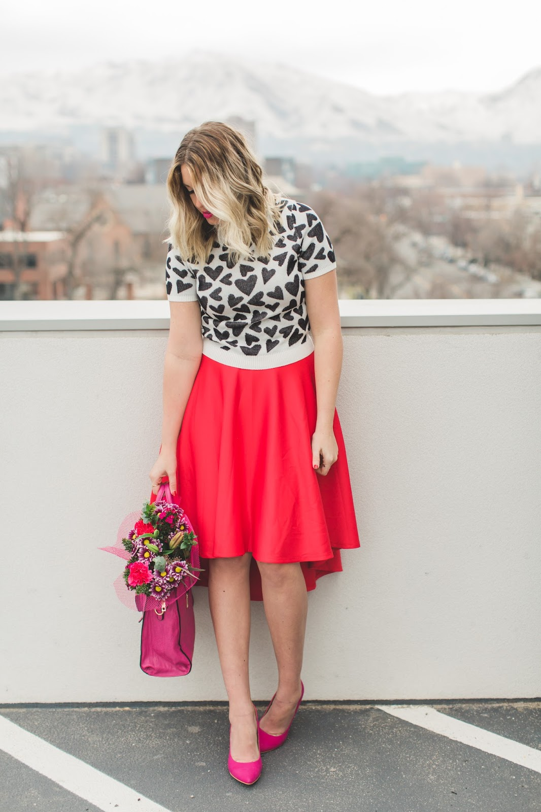 Valentine's Day Inspiration, Utah Fashion Blogger, Modest Outfit