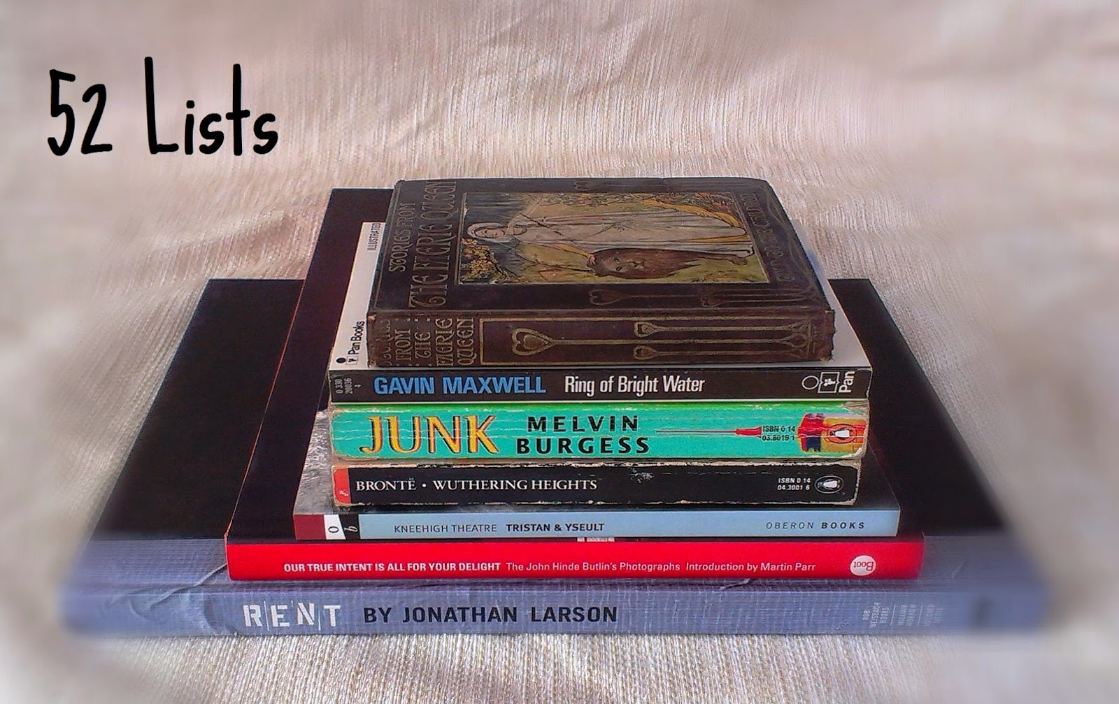 52 Lists - Your Favourite Books