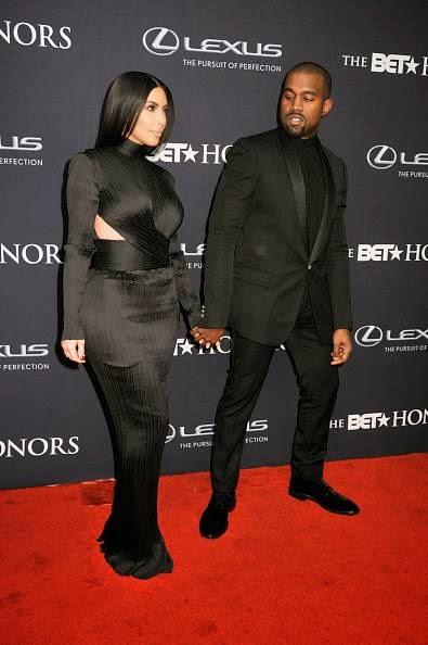kim kardashian bet honors dress