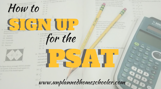 How to sign up for the PSAT