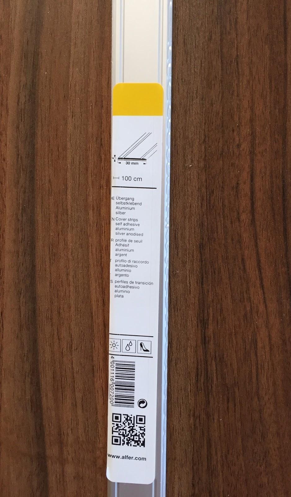 Berühmt Meine Produkttests: GedoTec® Übergangsprofil selbstklebend SC48