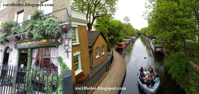 Viaje a Londres: Museo de Sherlock Holmes y Little Venice