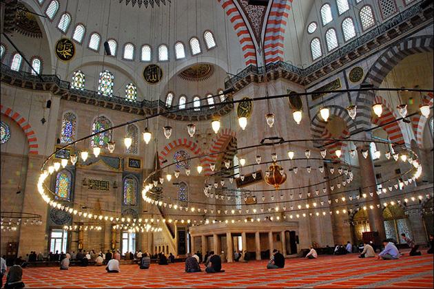 Masjid Sulaiman, Istambul