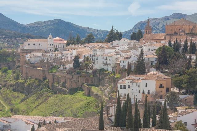 Ronda, uma das cidades que compõe os Pueblos Blancos, na Andaluzia, região sul da Espanha.