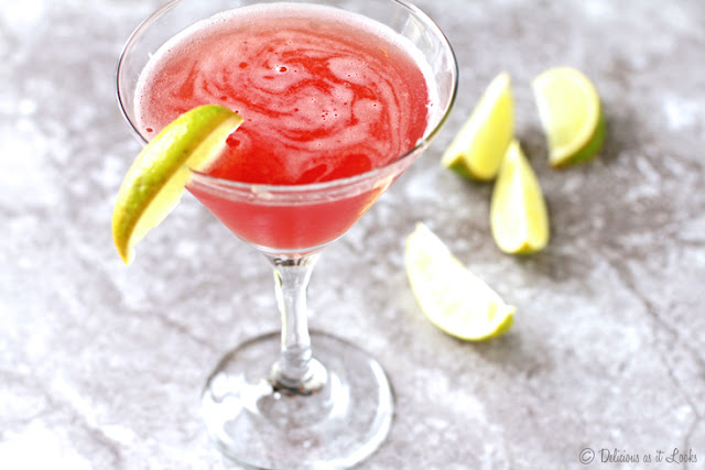 Low-FODMAP Cosmopolitan Cocktail  /  Delicious as it Looks