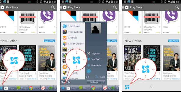تطبيق Taskbar لتشغيل قائمة start ويندوز 7 الى هاتفك الاندرويد