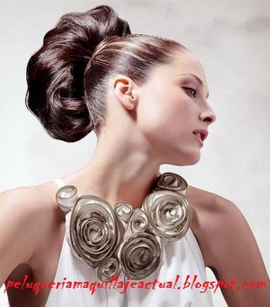 Peluqueria Y Peinados Tendencias Moda Cabello Peinados Para Novias - Peinados-de-novia-elegantes