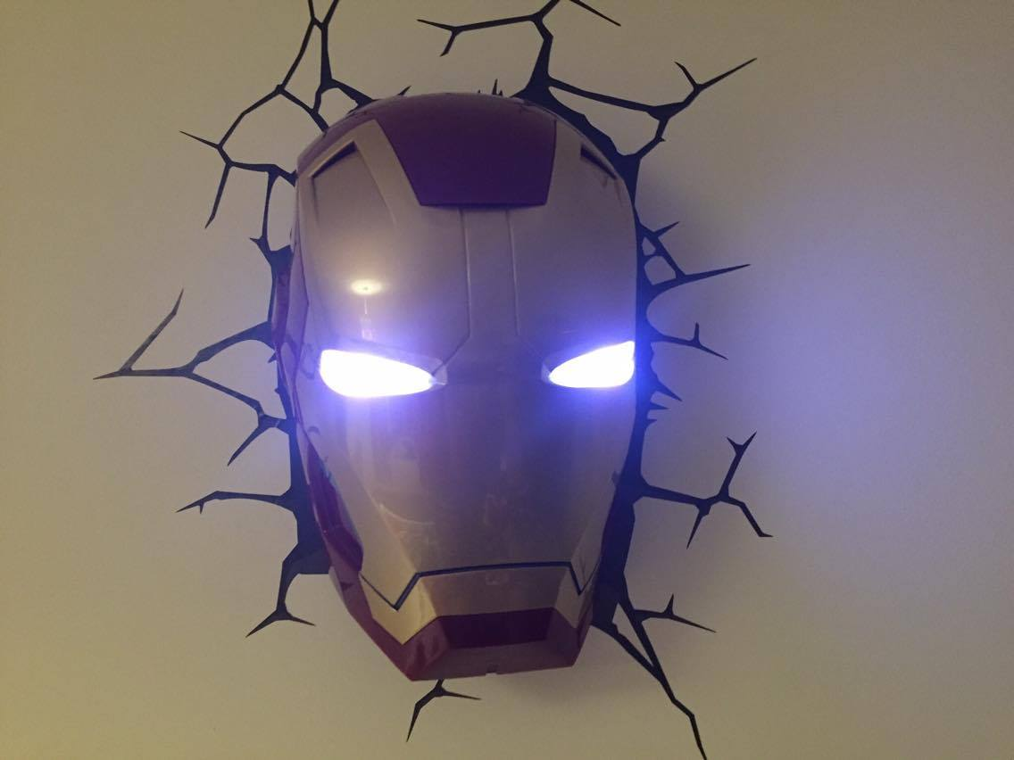 AN AVENGERS BEDROOM FOR A FOUR YEAR OLD....