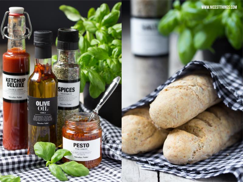 Dinkelbrot selbst backen / Homemade Italian Panini Sandwich / Nicolas Vahé
