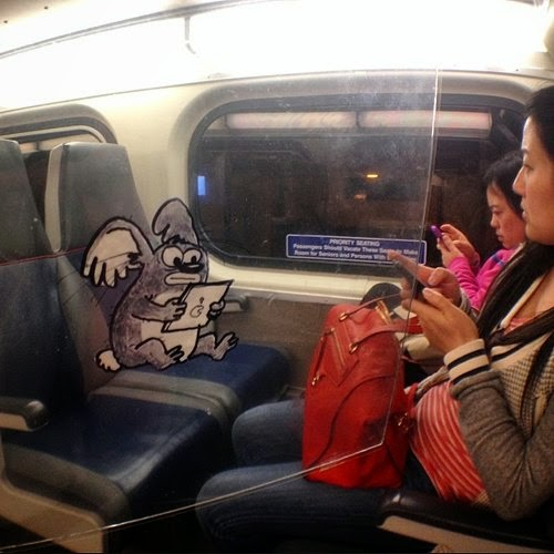 18-Urban-koala-the-commute-Marty-Cooper-aka-Hombre-McSteez-Doodle-Ramblings-www-designstack-co