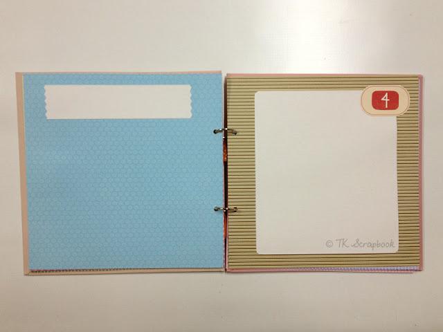 album scrapbook diario da mamãe
