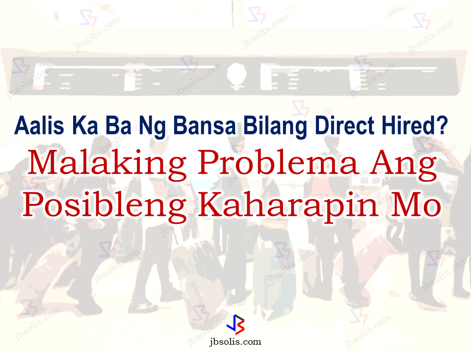 "Very few direct hires will be allowed to work abroad as the POEA tightens the rules for them to get Overseas Employment Certificate (OEC). The government has very clear rules on direct hires. It is only allowed under certain circumstances to ensure the safety of deployed OFWs worldwide. For the POEA to do it, every OFWs should be deployed abroad via legal recruitment agencies duly authorized and licensed by the POEA. The OEC serves as OWWA membership which is the basis of being legally deployed abroad and the name of the OFW is recorded on the POEA and OWWA database. Should anything happened to the deployed OFW, the government has records of the OFWs, their name, job description, country of deployment and even their employers or company. For the direct hires or illegally working OFWs who did not secure an OEC, things will be difficult for the POEA and OWWA to locate and rescue them should any untoward incident happen.  In an interview, Labor Secretary and POEA GB chair Silvestre Bello III said he supports the proposal since it would ensure the welfare of direct hires.  Most OFWs, especially the skilled and professional workers, resort to direct hiring for higher salary. To them they can evade the high placement fees and other processing fees  charged by the recruitment agencies. Being directly hired by foreign employers, they are free from spending a big chunk of their savings. The only downside is that, they are not recorded at the POEA and OWWA, putting them at great risk as compared to the agency-hired OFWs.  The Manila Times Columnist Atty. Dodo Dulay said  in his column that being a direct-hire, they only rely on the honesty, integrity and reputation of their employers with regards to honoring the terms of their contract. This kind of agreement exposes them to greater risk.   Direct hires or name hires are allowed under POEA regulations, applicants can only be exempted from the ban on direct hires if they will work for the following employers:   Members of the diplomatic corps;  International organizations; Heads of state and government officials with a rank of at least deputy minister;  Employers allowed by the Labor secretary through his or her discretion.  Sponsored Links POEA also set the requirements to be accomplished by direct or name-hires in order to be allowed to work abroad. Unless these requirements will be completed, direct hired professionals, skilled, low-skilled and household workers will be impossible to be deployed overseas.     Just recently, a new rule has been released that for the direct hires to secure OECs, they need to be connected to a local recruitment agencies. This was confirmed by local hires who are mostly going to European countries. The irony is that, the agencies also charge fees for processing similar to the placement fees they are collecting from agency-hired OFWS.    Unfortunately, the OFWs are not aware of the new system. Most of them already have their working visas, some of them has their plane tickets but they cannot leave the country because of the regulations from DOLE regarding direct-hires.  Now, if you are not bound to work for your relative abroad you are most likely to be denied of the OEC. However, the official statement regarding this rule is not yet released to the public by DOLE.  Bello admitted he does not approve of his discretionary power for direct hires since most applicants, who avail of it end up working for their relatives abroad. ""I do not want to encourage this because working for their relatives will guarantee they will not be abused,"" Bello said.  Bello issued the statement amid the reported increase in the number of aspiring OFWs, whose processing in his office has been delayed. Sources: Manila Bulletin, POEA, The ManilaTimes   Advertisement Read More:        ©2017 THOUGHTSKOTO"