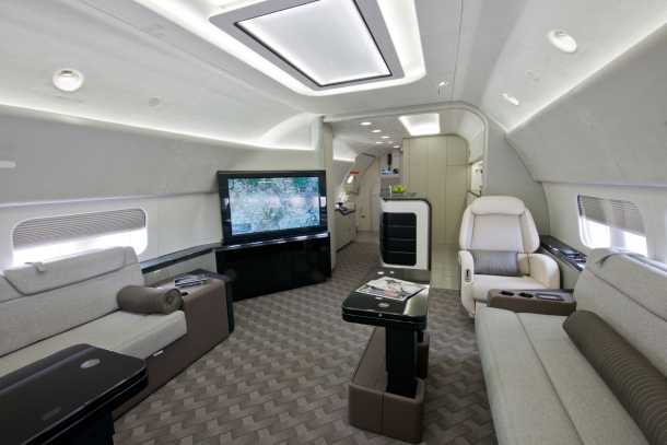 Flying House Luxury Private Jet Interiors