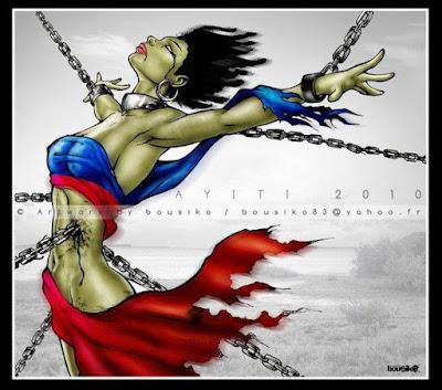 libere lespri Lady Ayiti | Artwork by Bousiko