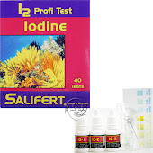 Aquarium iodide, iodate, molecular iodine and hypoiodite Test Kit