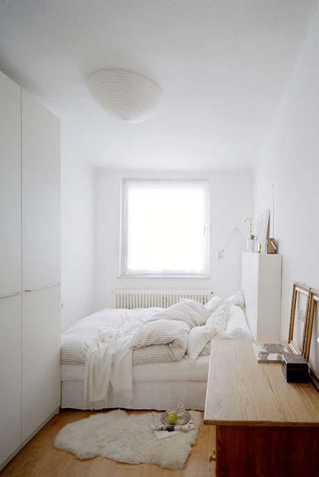 decoration chambre rectangulaire
