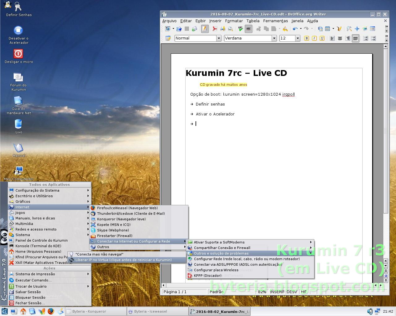 linux kurumin 7.0 em portugus