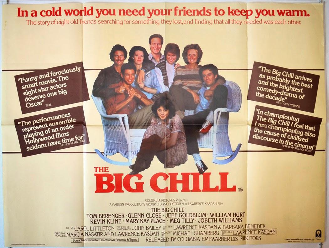 BoxOfficeBenful: THE BIG CHILL - IL GRANDE FREDDO di Lawrence ...