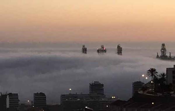 El aviso amarillo por calima en Canarias, hasta el sábado