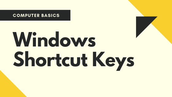 27 Windows Shortcut Keys helps in your daily life