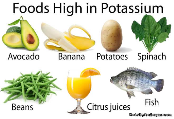 Makanan tinggi Potassium