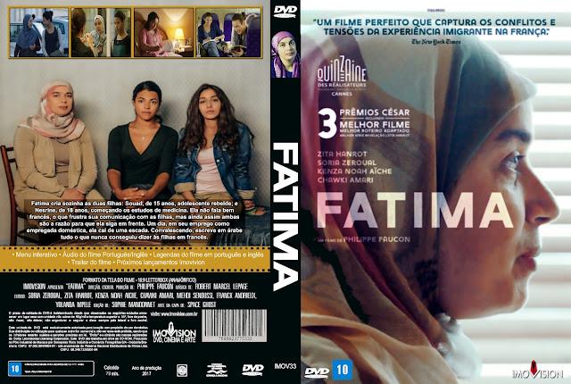 Capa DVD Fatima