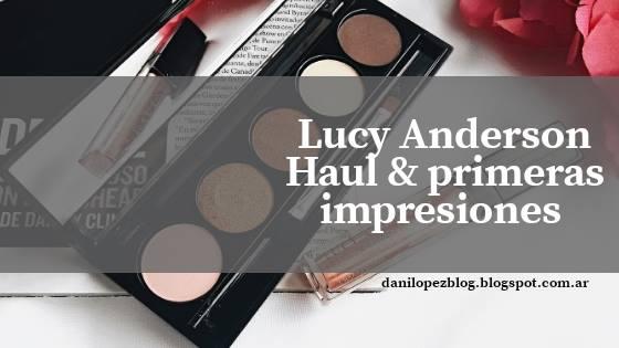 HAUL PRIMERAS IMPRESIONES LUCY ANDERSON