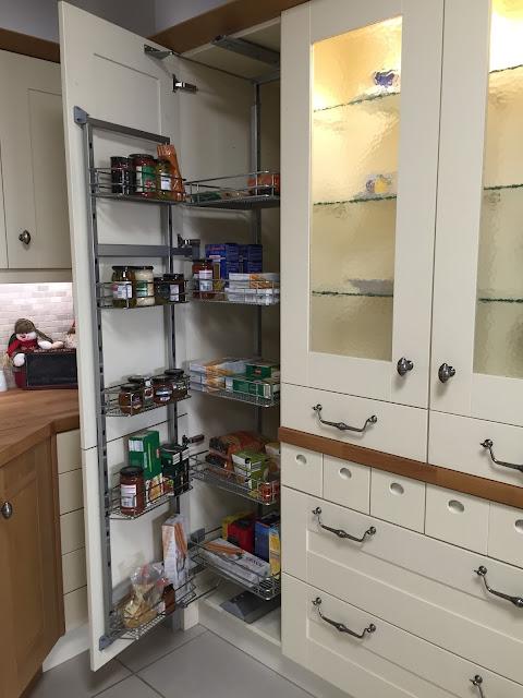 DIY Kitchen Larder