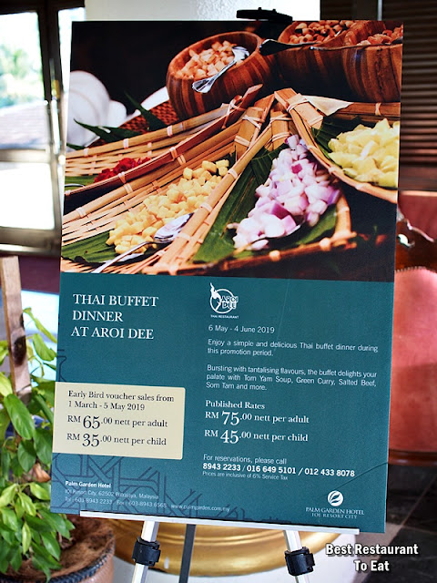 Ramadhan Thai Buffet Price