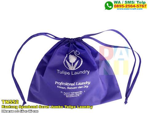 Kantong Spunbond Serut Jumbo Tulipe Laundry