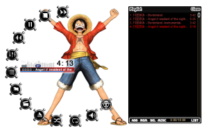 One piece media and information winamp skins.