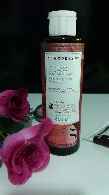 Dica de Beleza com Korres- Sabão Liquido e Hidratante
