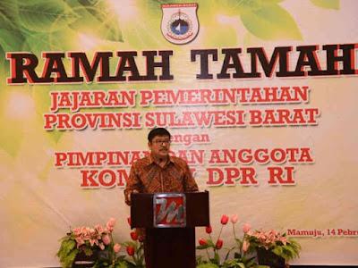 Bangun Infrastruktur Daerah, Pemprov Sulawesi Barat Wajib Bersinergi