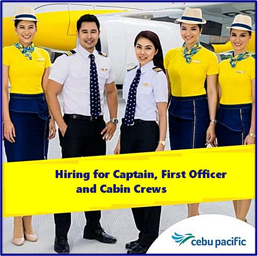 CEBU PACIFIC PILOT RECRUITMENT - A330, A320 AND ATR CAPTAIN AND ...