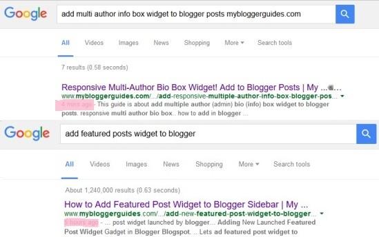 google index, super fast index, blog post index