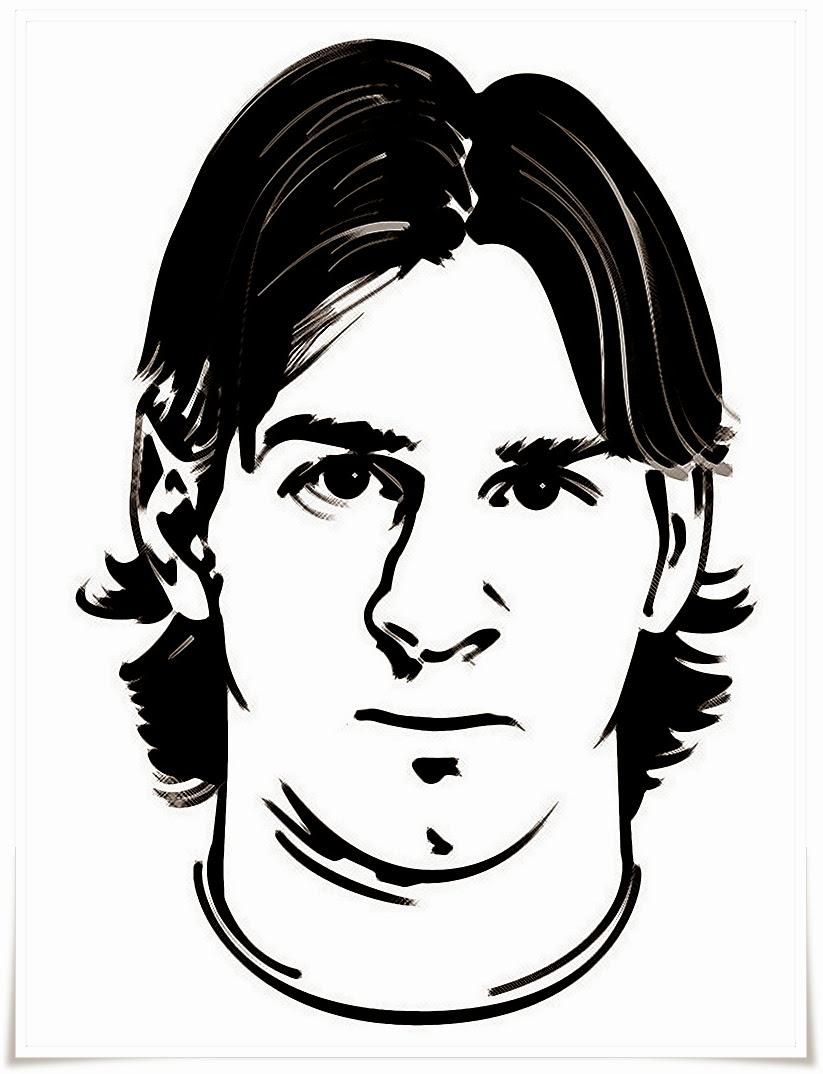 Mewarnai Gambar Lionel Messi Mewarnai Gambar