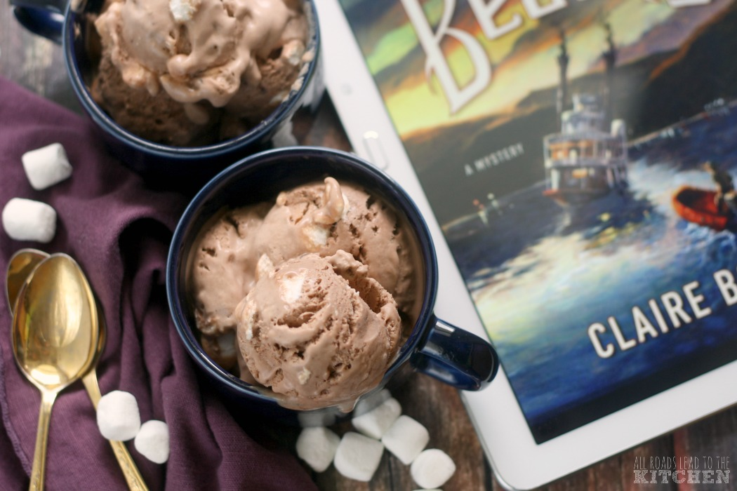 Hot Cocoa Ice Cream inspired by The Branson Beauty