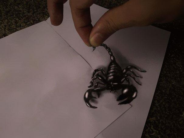 Scorpio illusion