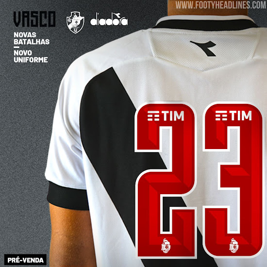 44a86620ffdfc Vasco da Gama 2019 Away Kit Released - Footy Headlines