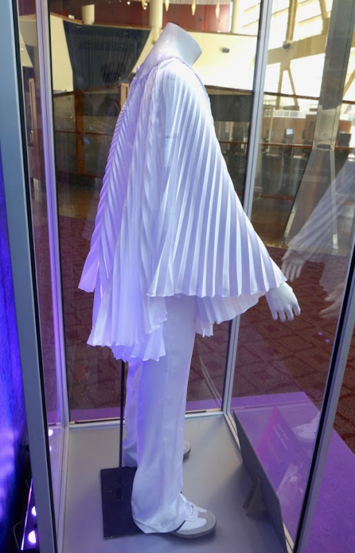 Freddie Mercury Bohemian Rhapsody white pleated costume