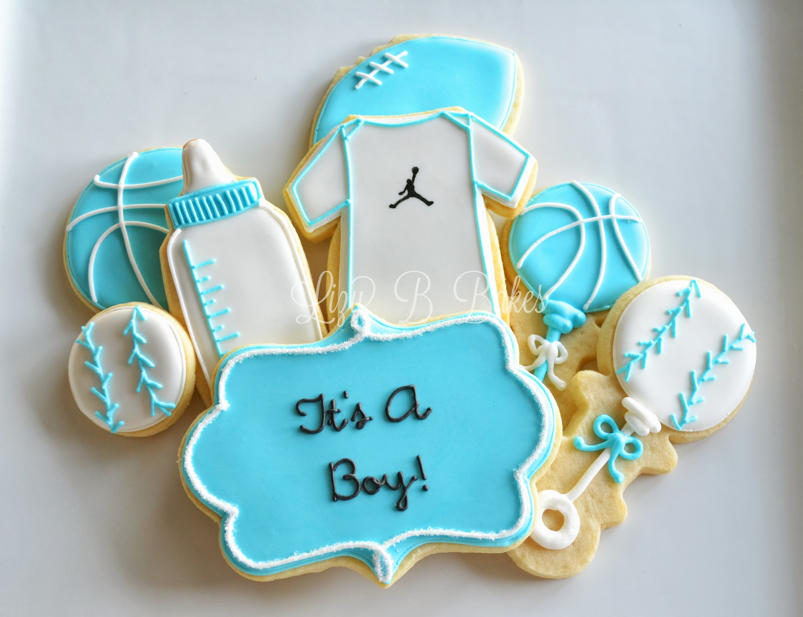 Lizy B: All-Star Baby Shower Cookies!