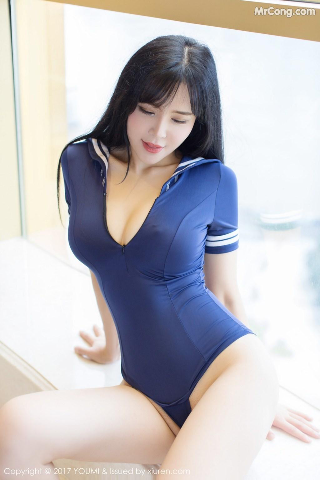Image YouMi-Vol.070-Liu-Yu-Er-MrCong.com-019 in post YouMi Vol.070: Người mẫu Liu Yu Er (刘钰儿) (45 ảnh)