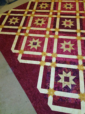 Fundy Skies quilt in progress, Canuck Quilter Designs